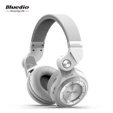 Bluedio Turbine T2S Bluetooth 4.1 Headsets Wireless Stereo Headphones Mic, White