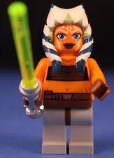 LEGO® STAR WARS™ Clone Wars 7680 AHSOKA TANO™ Minifigure 100% LEGO + Lightsaber