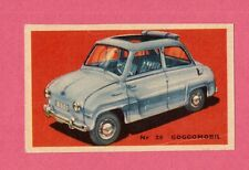 Goggomobil Vintage 1950s Car Collector Card from Sweden B