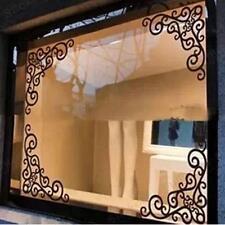4Pc DIY Wall Decal Decor Window Bath Room Mirror Art Sticker Removable Paper New