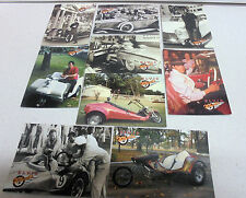9 x Elvis Presley WHEELS-1992 The River Group Elvis Collection Trading Cards