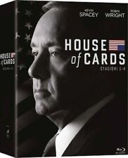 Dvd HOUSE OF CARDS - Stagione 01-04 (16 Dischi) (Boxset) .....NUOVO