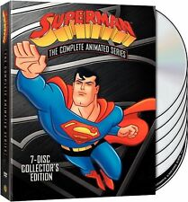 Superman:The Complete Animated Series(DVD,7-Disc Set,Collector's Edition) NEW