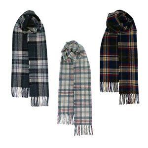 Hebridean 100% Lambswool Tartan Design Scarves