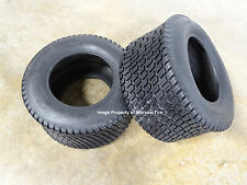 TWO New 24X12.00-12 Deestone D838 Zero Turn Mower Turf Tires 6 ply w/ free stems