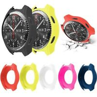 Protector Silicone Case Cover Slim Smart Watch For Samsung Gear S3 Frontier