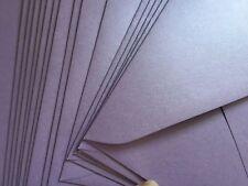 "20  5x7""(130x185mm)  AMETHYST Mauve Metallic Stardream Envelopes Fits 4x6"" Phot0"