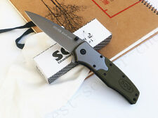 2018 Assisted opening Knife SOG Sharp Hunting Saber Stainless Steel Tools Gift