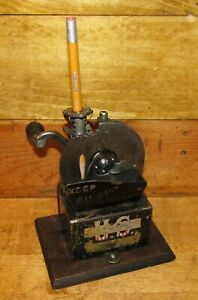 Vintage US Automatic Pencil Sharpener c1911, Fully Functional & Working