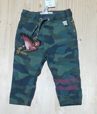 NEXT Boys Khaki Trousers 9-12 Months NEW