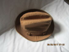 Preowned Men's Size 7 Brown Stetson Hat