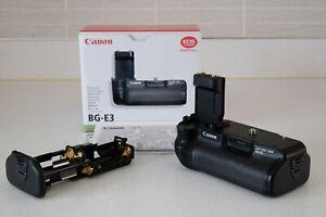 Canon grip BG-E3 (for Canon EOS 400D, 350D) boxed