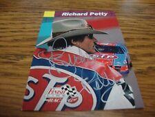 Richard Petty 1993 Finish Line signed auto card