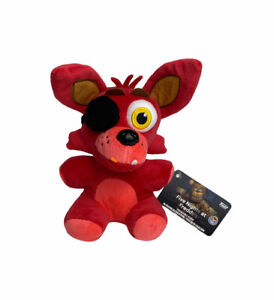 NEW Funko FNAF Five Nights at Freddy's Red Fox Foxy Collectible Plush With Tags