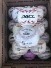 lot of 20 Wilson Soft Comprehension Level 1 baseballs Ultra-grip FREE SHIPPING