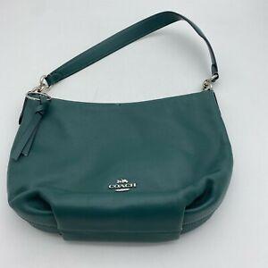 Coach 91029 Skylar Hobo Shoulder Handbag Cargo Green Pebbled Leather