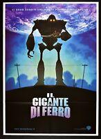 Manifesto el Gigante por Hierro el Iron Giant Brad Bird Animación Sci-Fi M33