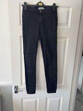 New Look Black High Waist Super Skinny Jean Size 10