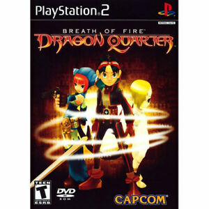BREATH OF FIRE - DRAGON QUARTER  NTSC-U/C US USA 60Hz PS2 Playstation 2