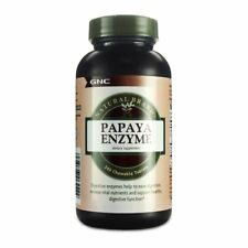 GNC Natural Brand Papaya Enzyme 240 Chewable Tablets
