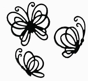 Tiny Butterflies - Metal Cutting Die Set - AUSTRALIAN STOCK