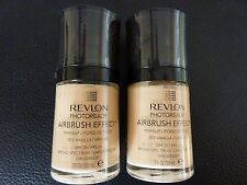 Revlon PhotoReady Airbrush Effect Makeup / Foundation - VANILLA #002 - 2 Bottles