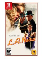 L.A. Noire - Nintendo Switch 2017 - Pre Sale Ships 11/17! Free Shipping