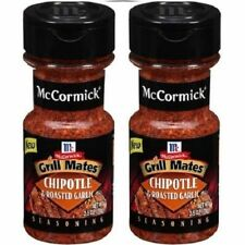 McCormick Grill Mates Chipotle & Roasted Garlic Seasoning 2 Bottle Pack