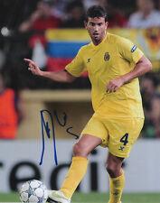 Mateo Musacchio Villarreal Soccer Signed 8x10 Photo Coa!