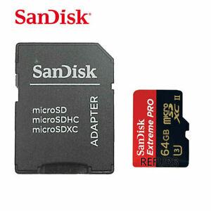 SanDisk 64GB Micro SD Tarjeta de memoria MicroSD de TF Extreme Pro UHS-II U3