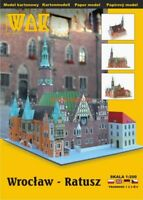 GENUINE PAPER-CARD MODEL KIT - WROCŁAW - Town hall