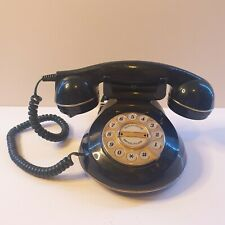 Vintage Style Landline Home Phone Astral The Knightsbridge Push Button Green