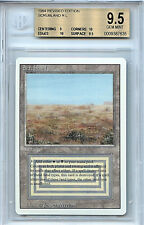 MTG Revised Scrubland Dual Land BGS 9.5 GEM Mint  Card  Magic The Gathering 7635