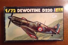 3 Kits 1 Box - Dewoitine D520 Heller/Frog 1/72 scale - unassembled kit#212