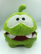 Om Nom Cut The Rope Green Mascot Character Kelly Toy Soft Plush Doll Kellytoy