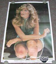 Farrah Fawcett Majors Poster - Logan's Run - Original 1976 - 23x35