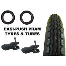 "2 x iCANDY Stroller Pram TYRES 12 1/2"" x 2 1/4 +  Bent tubes + Puncture Sealant"