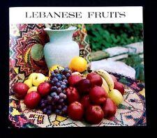 Lebanese Fruits booklet from HELIO ELECTRONIC PRESS DU LIBAN Lebanon 1960's