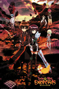 Twin Star Exorcists Manga Poster 24x36 inch
