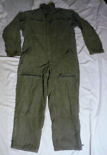 Rare Dutch? Vintage Foregin Heavy Duty Cotton Flight Mechanic Coverall Mens Lg