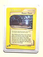 POWER PLANT - 139/147 - Aquapolis - Trainer - Pokemon Card - NM