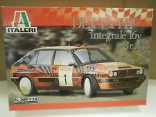 NEW MODEL- ITALERI 3689- DELTA HF INTEGRALE 16V GR. A - 1:24 SCALE- W56