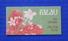 Palau (#133a) 1988 Indigenous Flowers MNH booklet