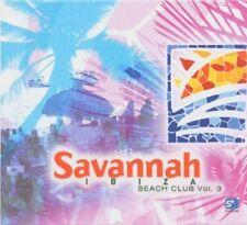 Savannah Beach Club 3      2CDs Lounge Electro Deluxe The Defloristics Melkbar