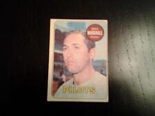 1969 O-Pee-Chee baseball  #17 Mike Marshall Pilots