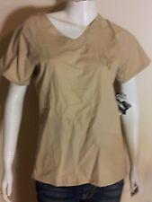 Baby Phat Women's Small (S) Khaki/Tan Shirt/Top/Blouse