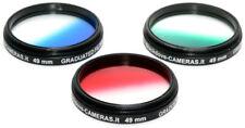 49mm. Set 3 filtri digradanti Blackdove-cameras *NUOVI*