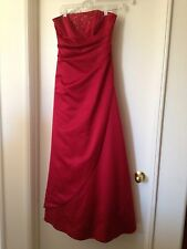 Davids Bridal Red Dress