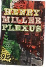 PLEXUS by Henry Miller (1952) Buchet-Chastel softcover, Paris (in French)