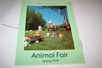 Vintage Toy Catalog #149 - ANIMAL FAIR TOYS (1979)